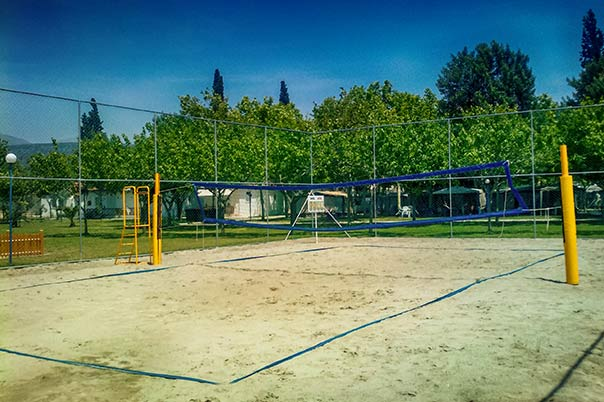 Camping Interstation - Γήπεδο beach volley
